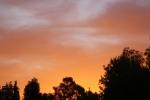 Aussie summer sunset
