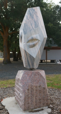 sculpture at Macclesfield