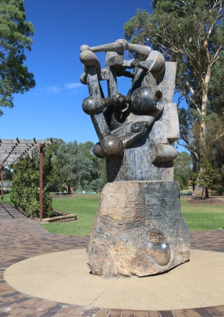 Hills sculpture trail