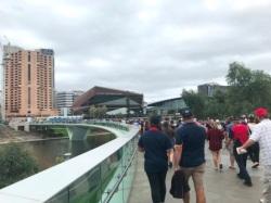 Footbridge over the Torrens River