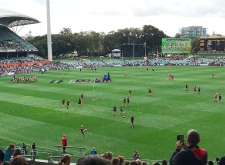 AFL Womens game