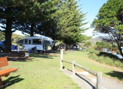 Trial Bay campground