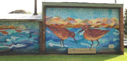 Lake Pertobe mural