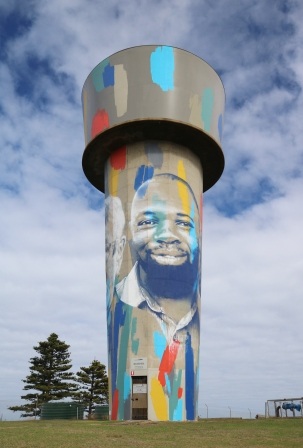 Warrnambool water tower art
