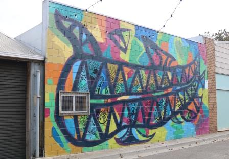 laneway art Warrnambool