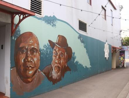 Archie Roach street art