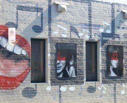 Chrissy Amphlett street art