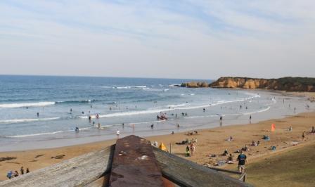 Back Beach Torquay