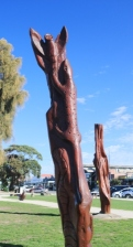 Apollo Bay sculptures