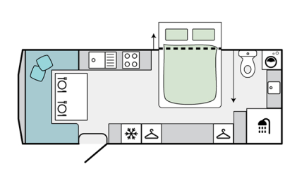 Jayco Silverline layout