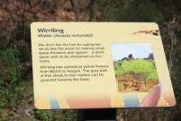 national park signage