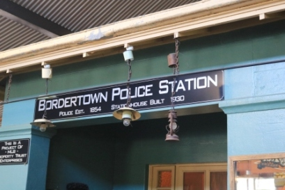 old Bordertown police station