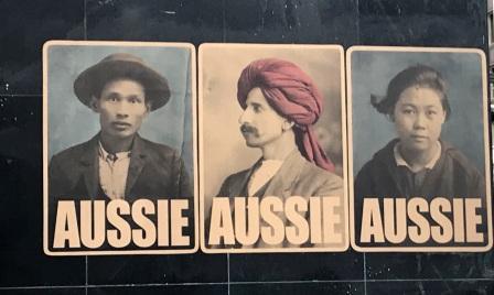 Aussie paste ups