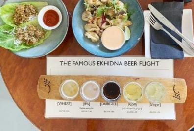 Ekhidna beer flight
