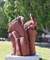 timber sculpture