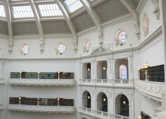 domed reading room