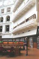 La Trobe reading room