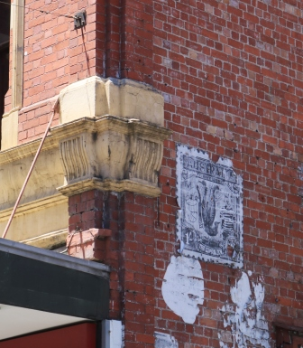 Melbourne paste up art
