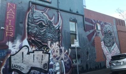 Juddy Roller street art
