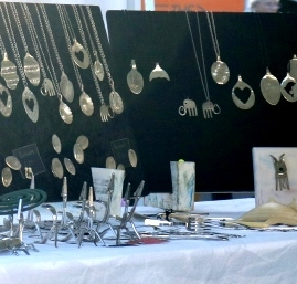 Fork jewellery Goolwa market