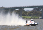 Powerboat on the Murray River