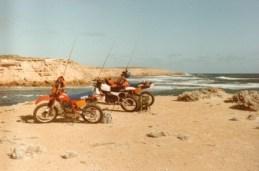 motorbikes and fishing