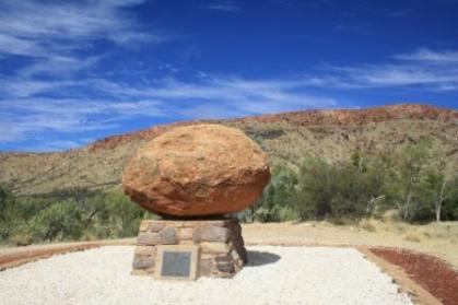 Flynn's resting place Alice Springs