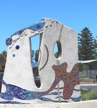 Normanville sculpture
