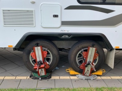 Caravan wheel alignment