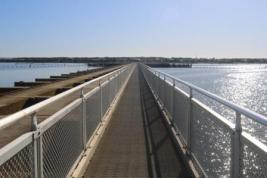 Goolwa barrage walk