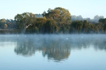 River Murray winter mornings