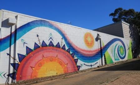 Berri mural art