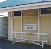 Morgan train ticket office