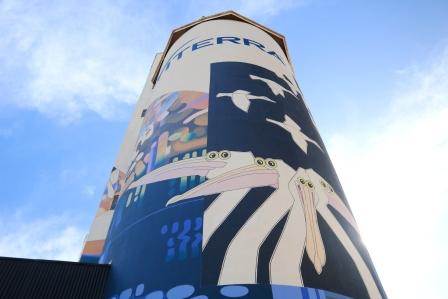 Waikerie silo art