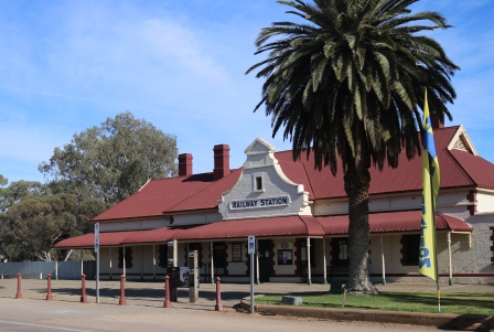 Quorn railway station building