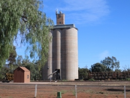 Quorn silos by day