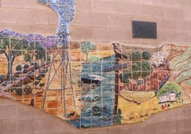 Carrieton mural