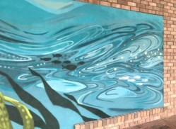under the sea street art