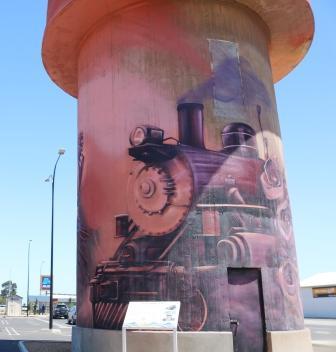 Kadina water tower art