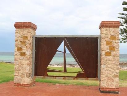 Port Hughes Seamen's memorial