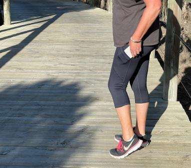 active wear with pocket