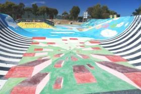 skate park street art